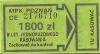 Bilet MPK Poznań za 1800 zł