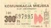 Bilet MPK Poznań za 300 zł