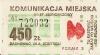 Bilet za 450 zł z poza MPK Poznań