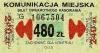 Bilet za 480 zł z poza MPK Poznań