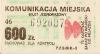 Bilet MPK Poznań za 600 zł