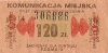Bilet MPK Poznań za 120 zł