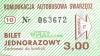 Bilet jednorazowy WirażBus
