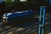 ET22 przy żurawiu na Dworcu Głównym