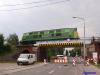 Próby obciążeniowe na wiadukcie nad ul. Gnieźnieńską