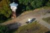 Wieża ciśnień na stacji Sieraków Wielkopolski