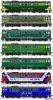 Schematy malowania lokomotyw SU46