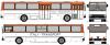 Ikarus 260, Italy Transport