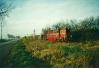Przyjazd pociągu z Dobrego Kuj. (Lxd2-318)