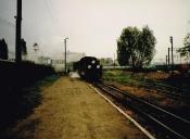 Wjazd pociągu nr 7253 na stację Środa Wlkp. Wąsk.