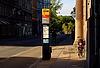 Kopenhaga, przystanek autobusowy