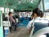 Bangkok wnętrze bus