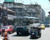 Bangkok bus i tuk-tuk